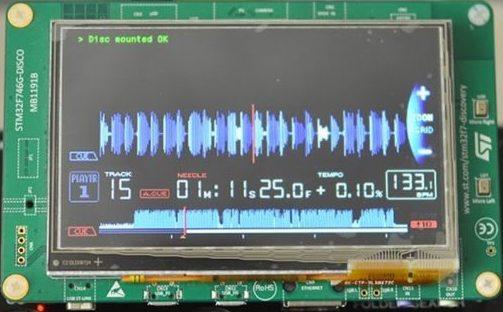 Display Pioneer CDJ-1000mk3 Nexus