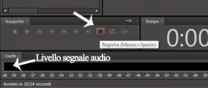 Adobe audition software per registrare e audio editing