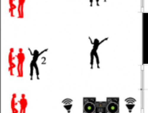 Psicologia Dancer, come sistemare la sala da ballo