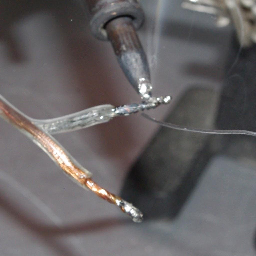 coprire filamenti di stagno