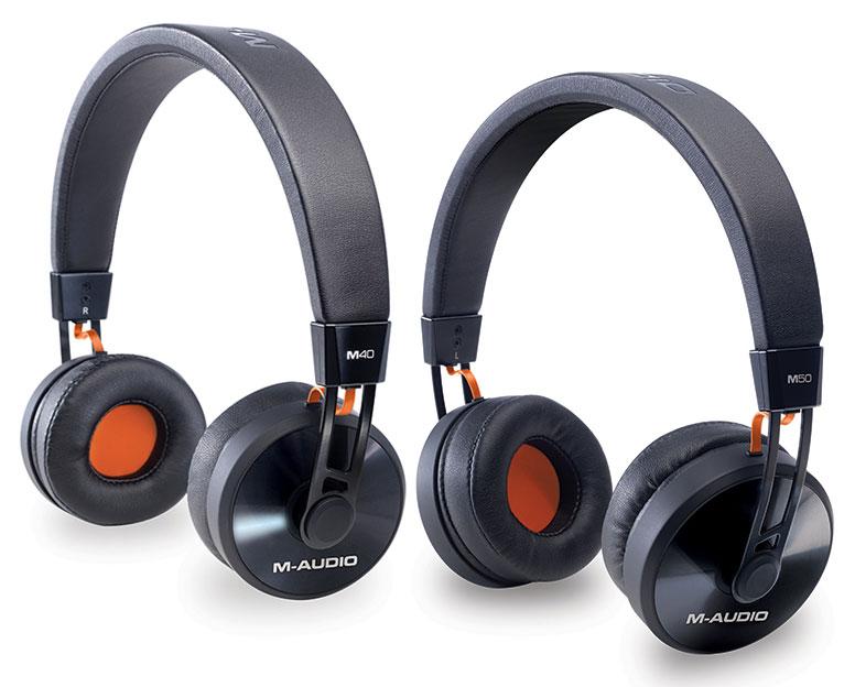 M-Audio cuffie da studio per producer M40 M50
