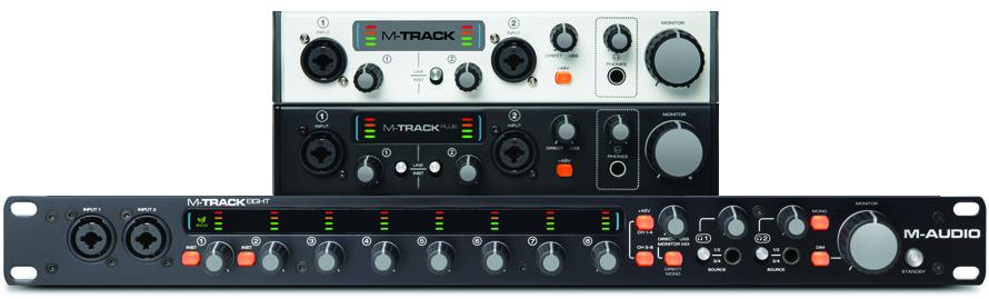 scheda audio m-track