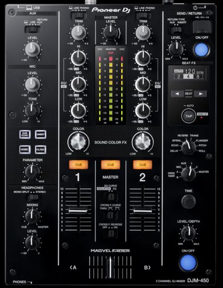 mixer pioneer djm-450
