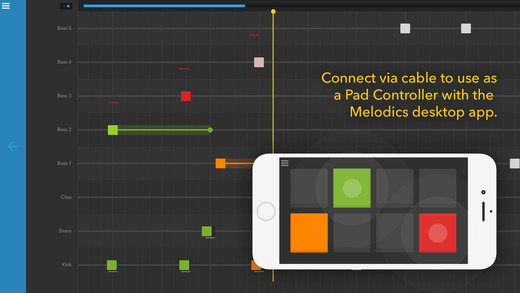 Melodics Controller App