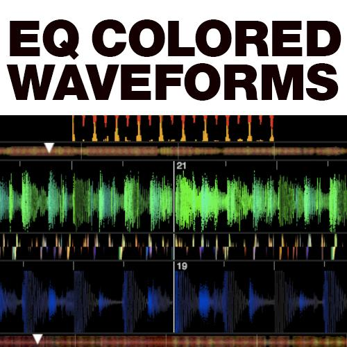 Colored Waveforms Serato DJ