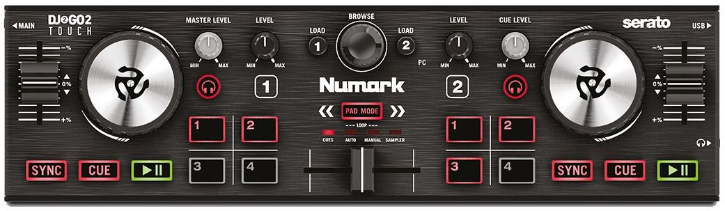 Numark DJGO2 Touch