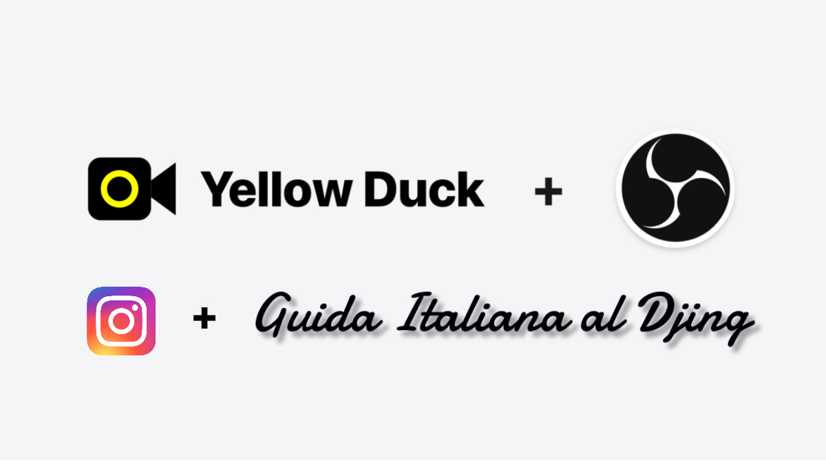 instagram yellow duck obs