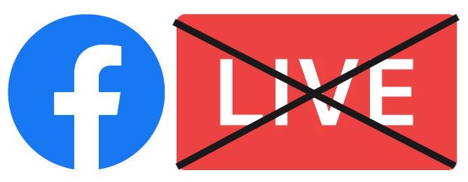 Facebook Blocca dirette live e contenuti