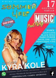 Kyra Kole - Piscina Polisportiva Summer Life